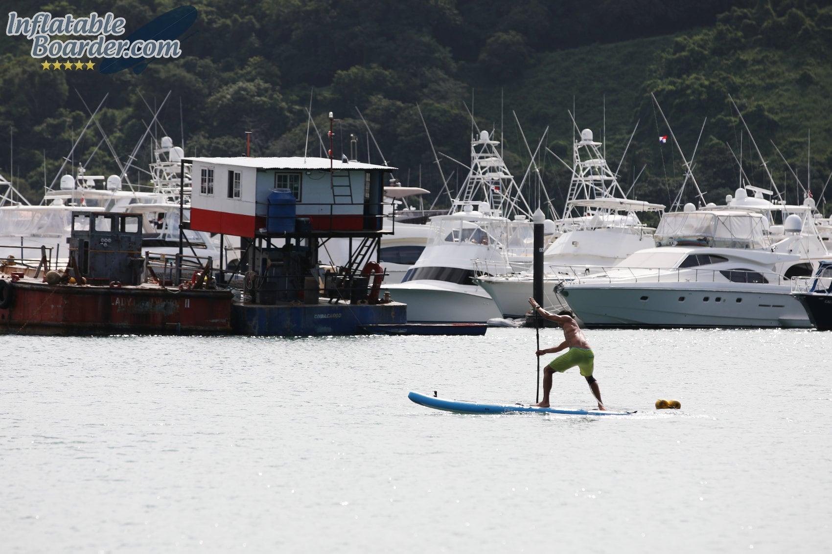 Racing Bluefin SUP Paddle Board