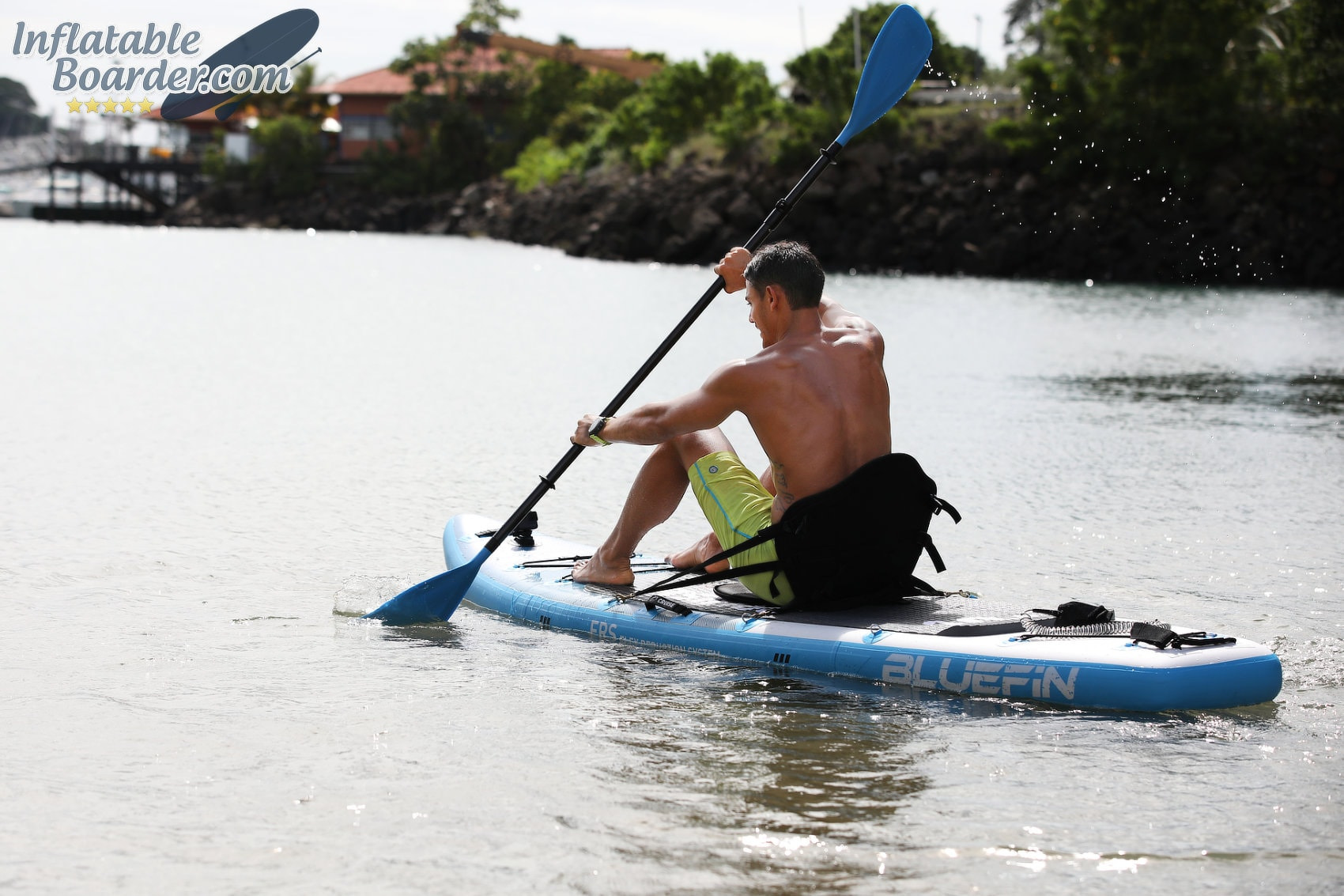 Seated Paddling on SUP