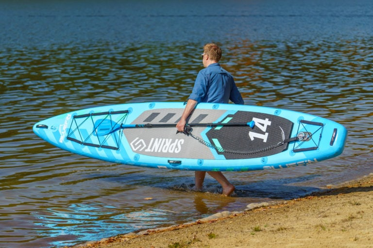 Bluefin Sprint SUP paddle board review