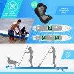 Bluefin Cruise 15' SUP Kayak Conversion Kit