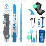 Bluefin SUP Cruise 15' Tandem Board Package