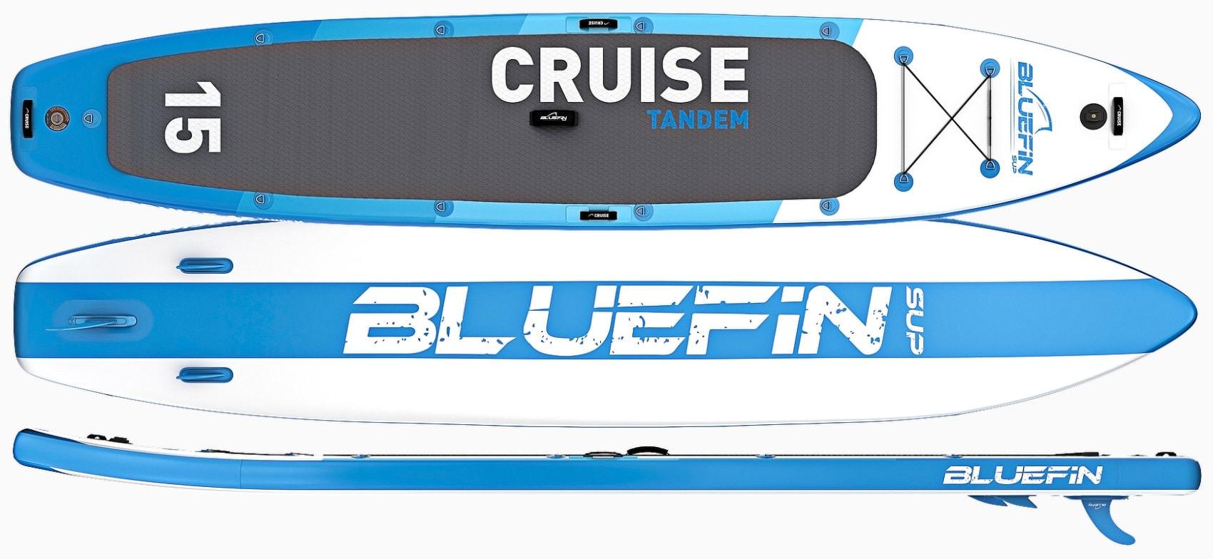 Bluefin SUP Cruise 15' Tandem Paddle Board