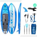 Bluefin SUP Voyage Inflatable Paddle Board Package