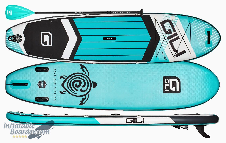 """2020 GILI AIR 10'6"""" Inflatable SUP"""