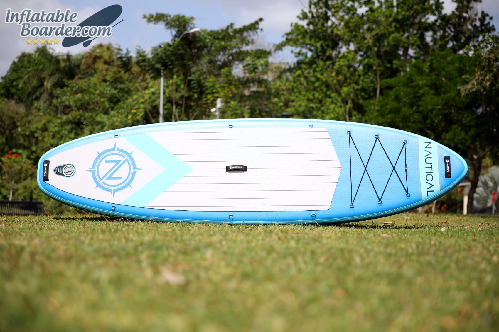 Nautical Inflatable Paddle Board Top