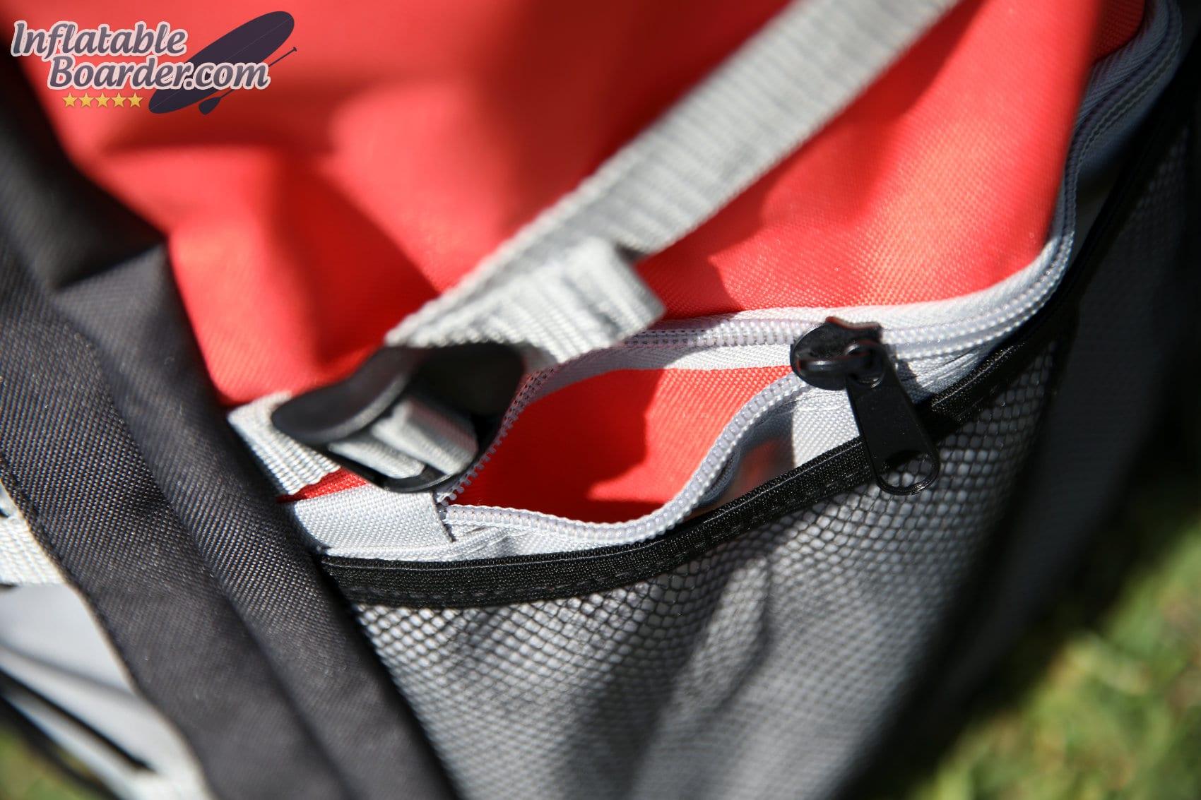 Carry Bag Zippered Pockets