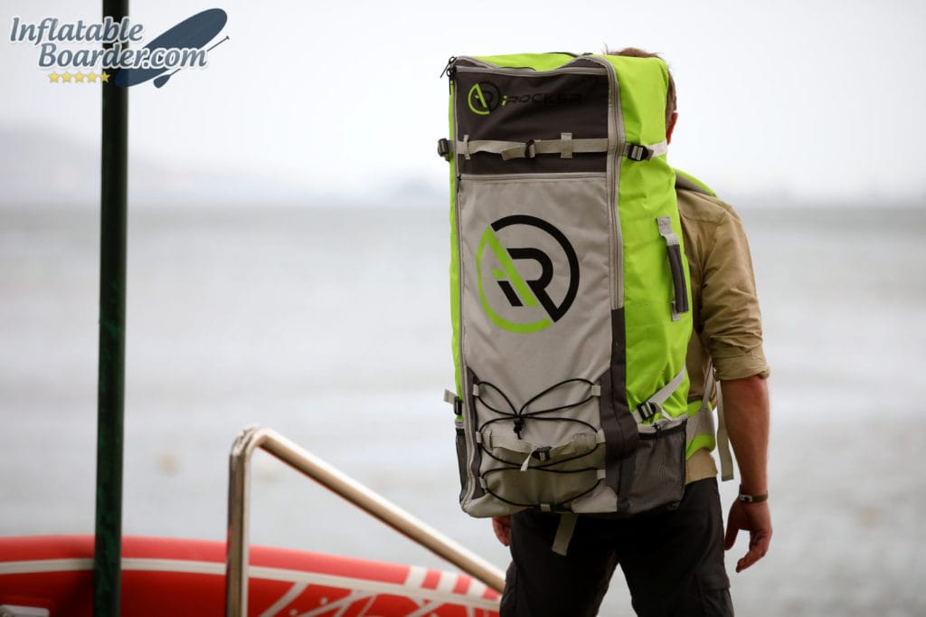 Carrying iROCKER SUP Backpack