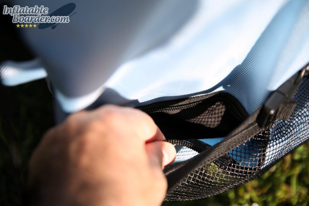 Zippered Storage Pocket