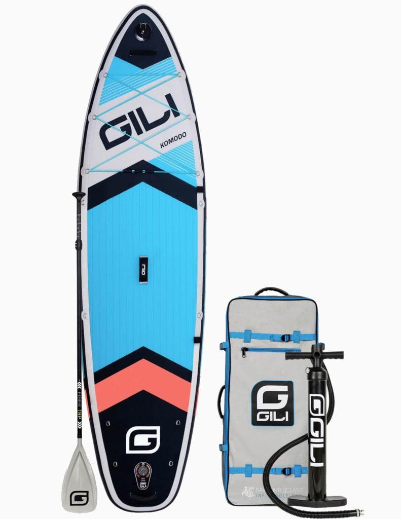2020 GILI Komodo SUP and accessories