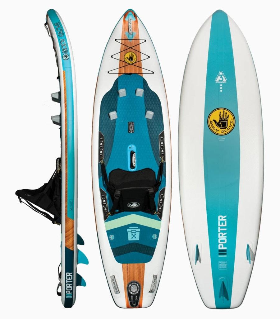 2020 Body Glove Porter Inflatable Kayak SUP