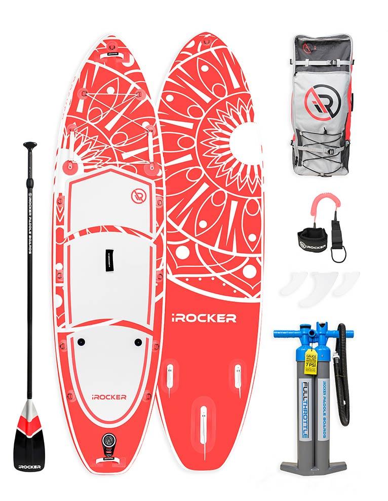 2020 iROCKER All Around 10 SUP and accessories