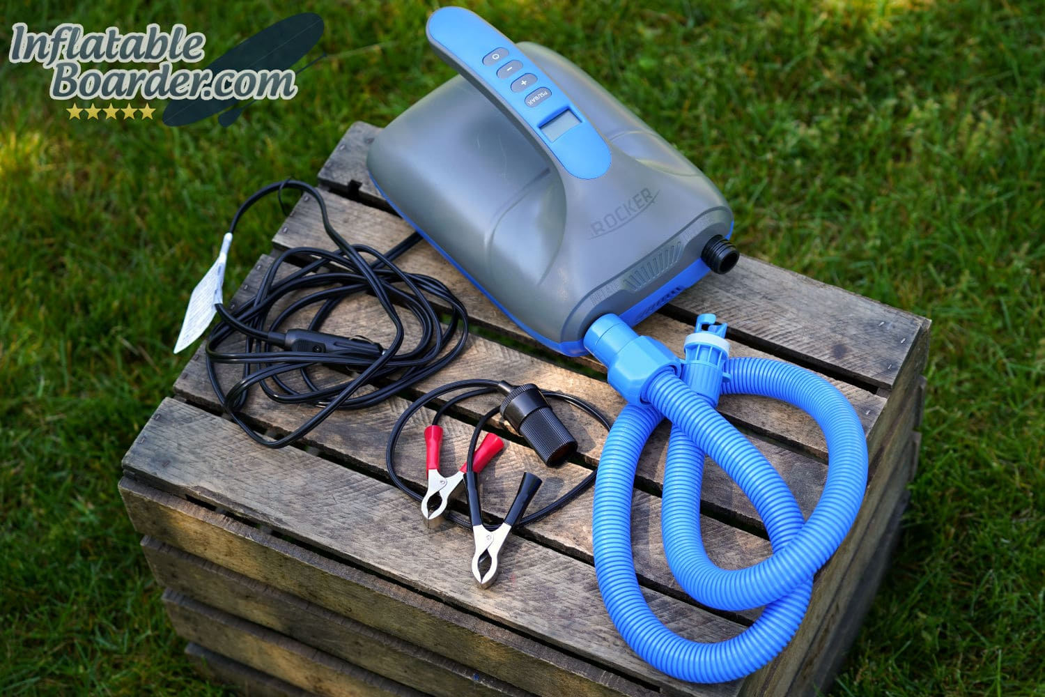 irocker inflatable sup electric pump
