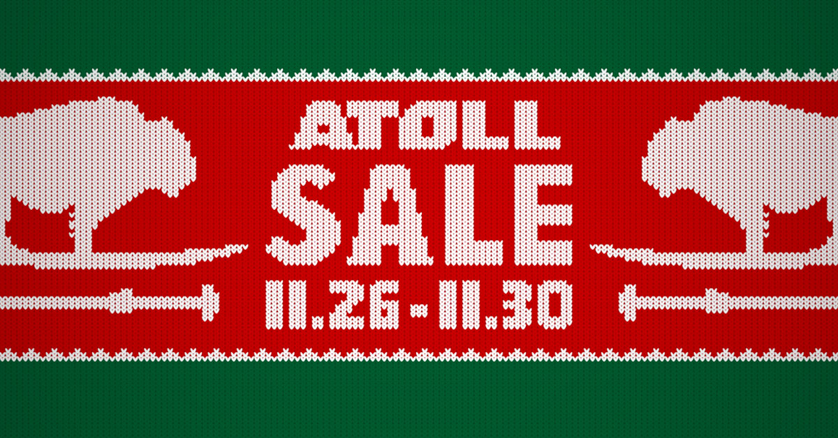 Atoll Paddle Board Holiday Sale