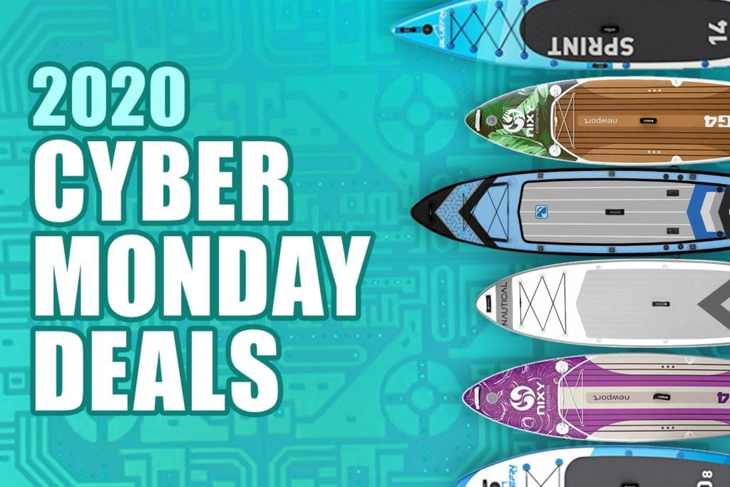 2020 Cyber Monday Inflatable Paddle Board Deals