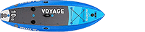 2021 Bluefin Voyage inflatable paddle board