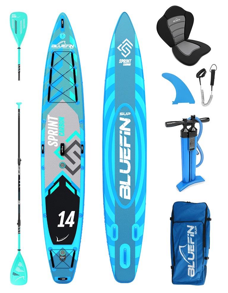 Bluefin Sprint Carbon - advanced touring SUP