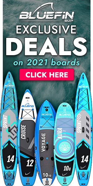Bluefin SUP Exclusive Deals on 2021 boards - Click to Browse Sales