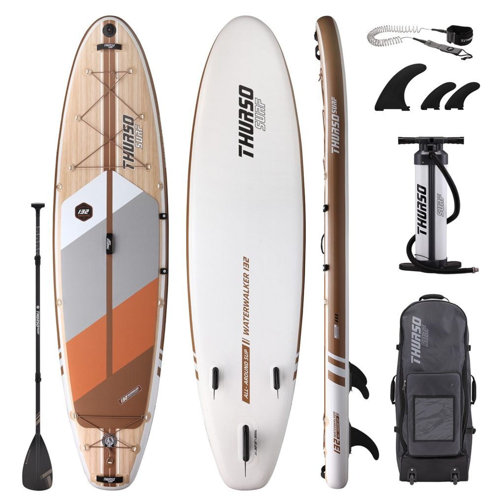 THURSO SURF inflatable SUP board Waterwalker 132 accessories