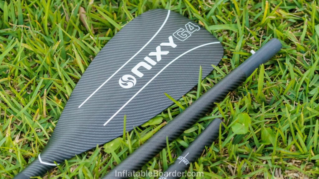 2021 Nixy G4 carbon paddle blade and shaft