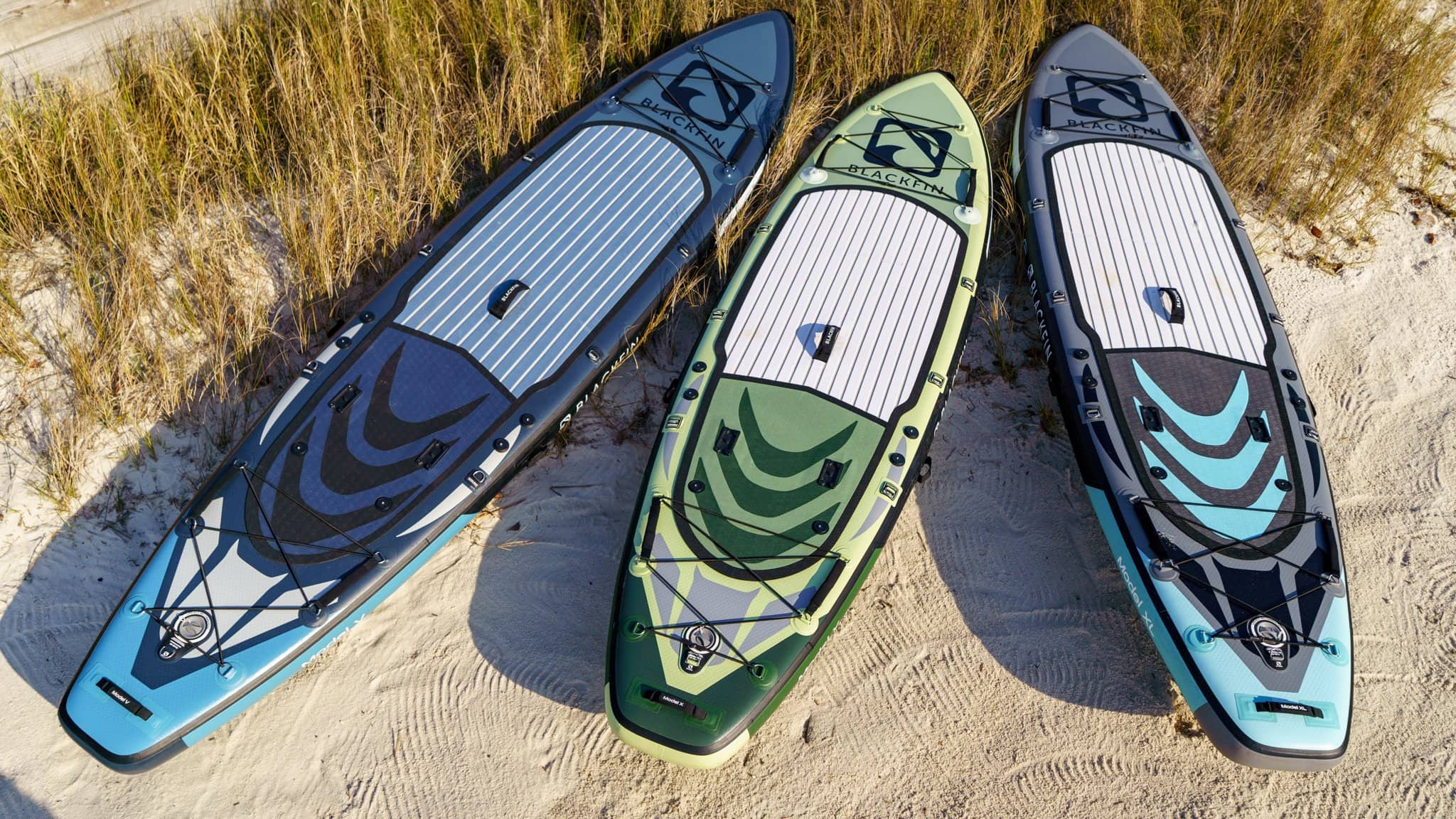 2021 Blackfin SUP Launch includes Model X, Model XL, and Model V