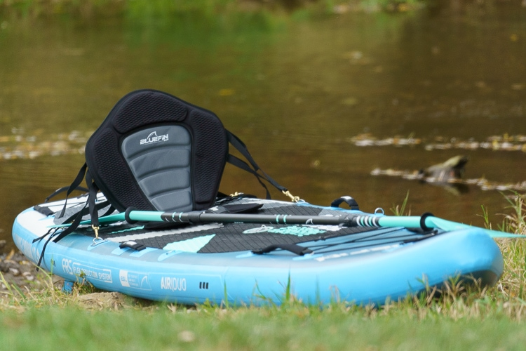 Bluefin Cruise Carbon 10.8 inflatable paddle board review