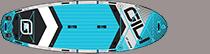 Gili Manta 12' group inflatable paddle board