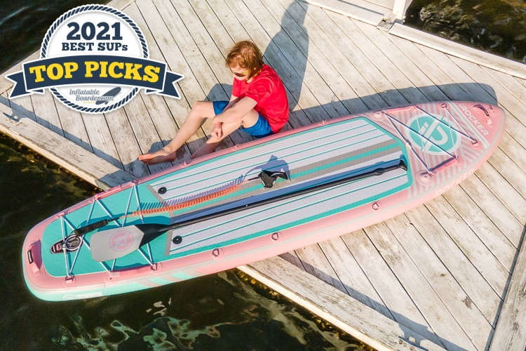 iROCKER All Around 10' inflatable paddle board review - Top Pick