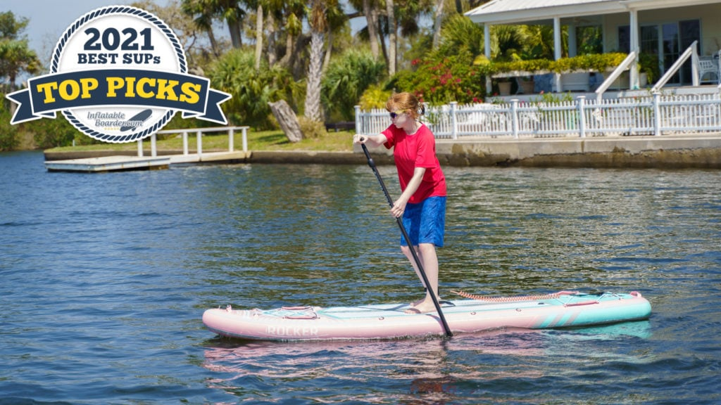 iROCKER All Around 10' paddle board review - 2021 all-around SUP top pick