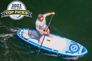 "iROCKER NAUTICAL 10'6"" inflatable paddle board review - Top Pick award winner"