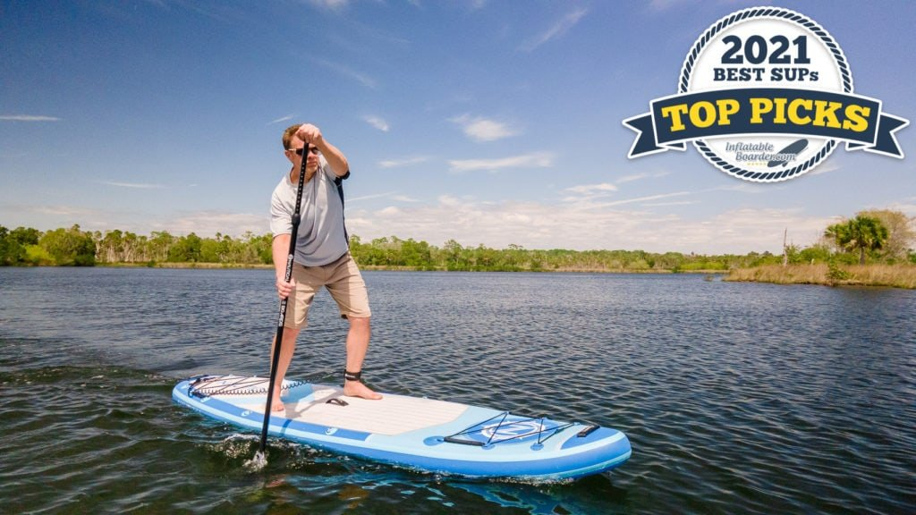 iROCKER NAUTICAL 10'6 paddle board review - all-around SUP top pick