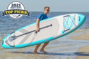 iROCKER NAUTICAL 11.6 inflatable paddle board review - Top Pick award winner