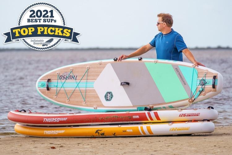 Thurso Waterwalker 120 inflatable paddle board review - Top Pick award winner