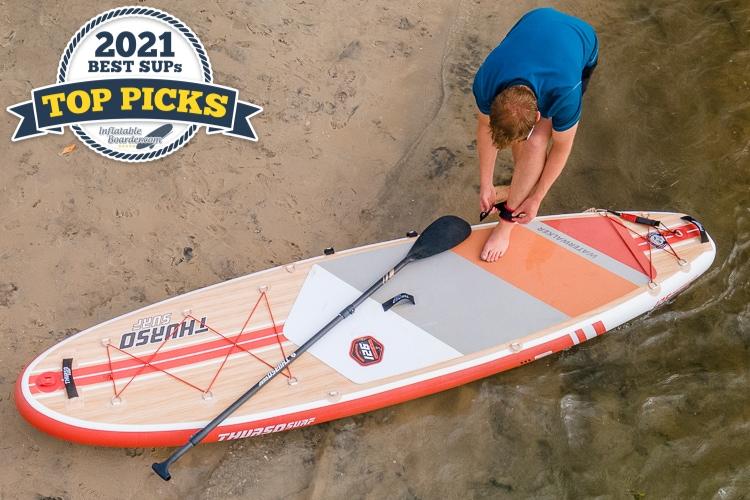 Thurso Watrwalker 126 inflatable paddle board review - Top Pick award winner