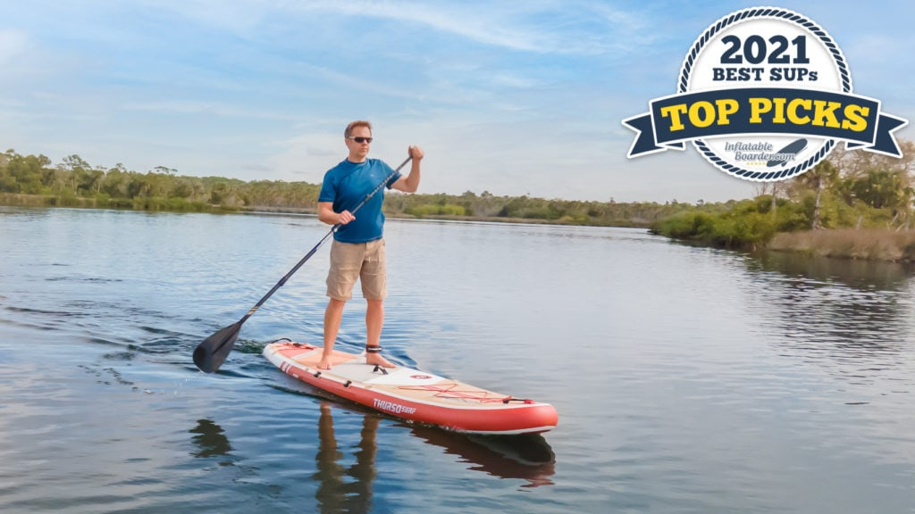 Thurso Waterwalker 126 paddle board review - 2021 all-around SUP top pick