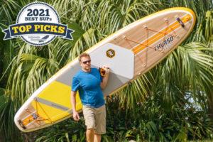 Thurso Waterwalker 132 inflatable paddle board review - Top Pick award winner