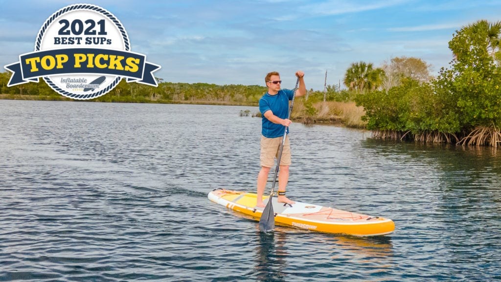 Thurso Waterwalker 132 paddle board review - 2021 all-around sup top pick