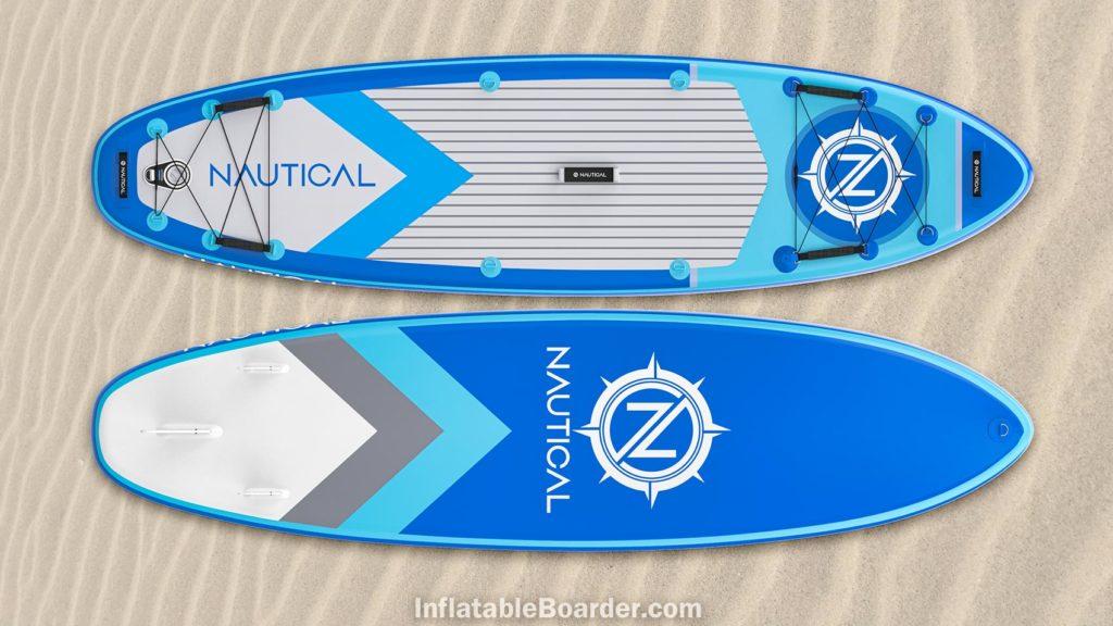 2021 NAUTICAL paddle board blue color option