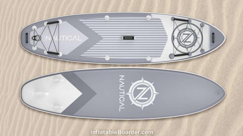 2021 NAUTICAL paddle board gray color option