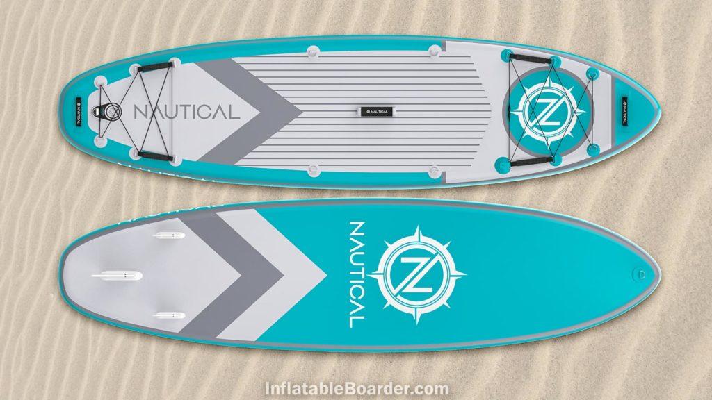 2021 NAUTICAL paddle board teal color option