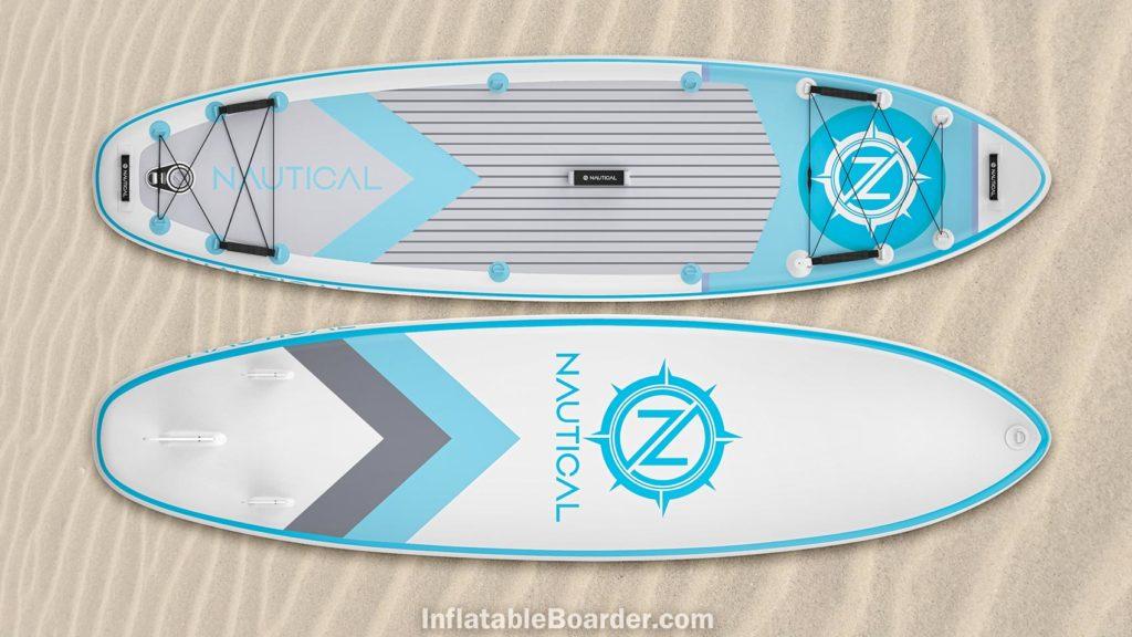 2021 NAUTICAL paddle board white color option