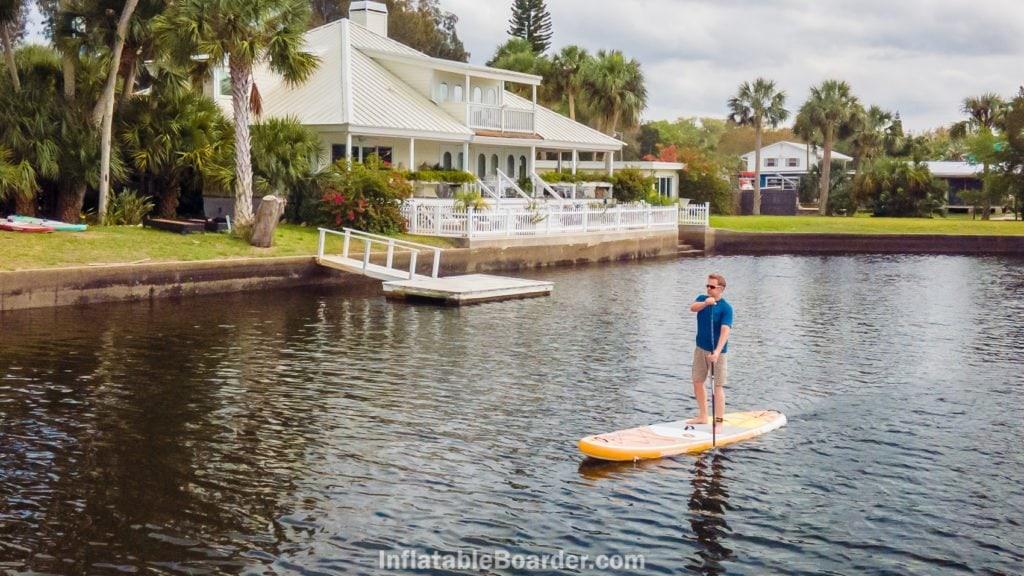 2021 Waterwalker at a tropical ocean resort.