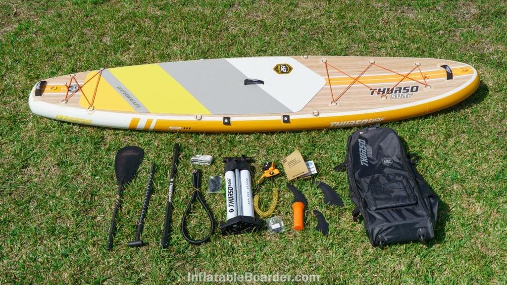 2021 Thurso Waterwalker 132 SUP accessories