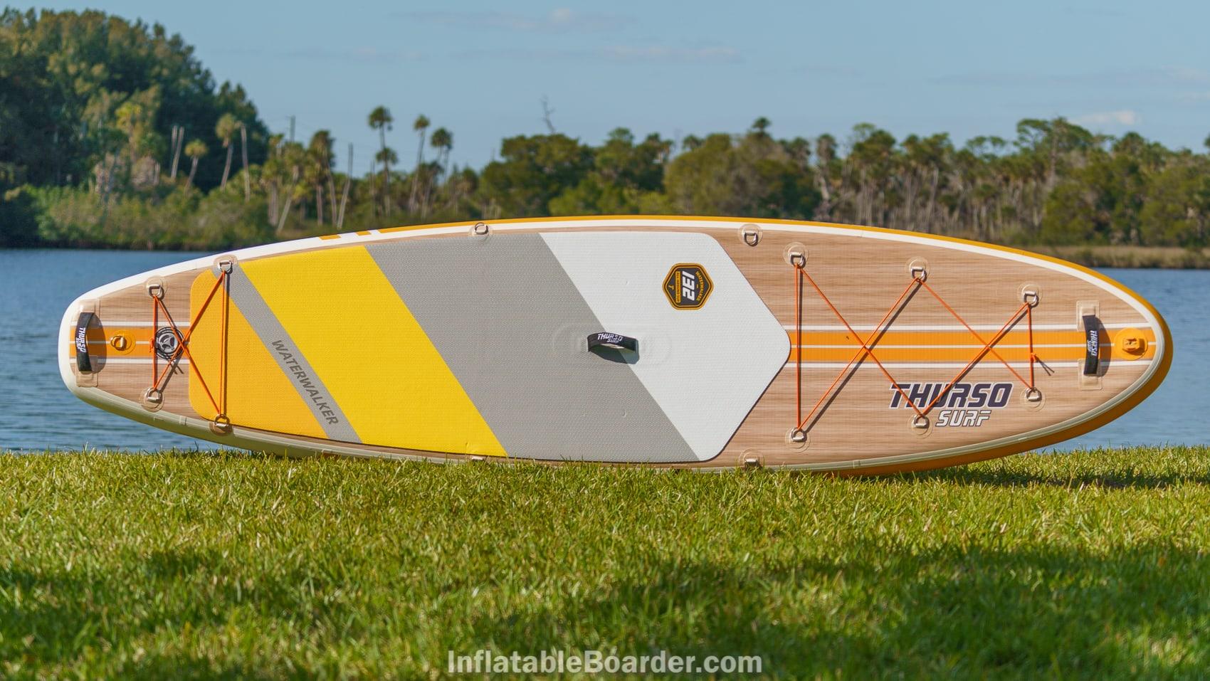 2021 Thurso Waterwalker 132 tangerine color overview