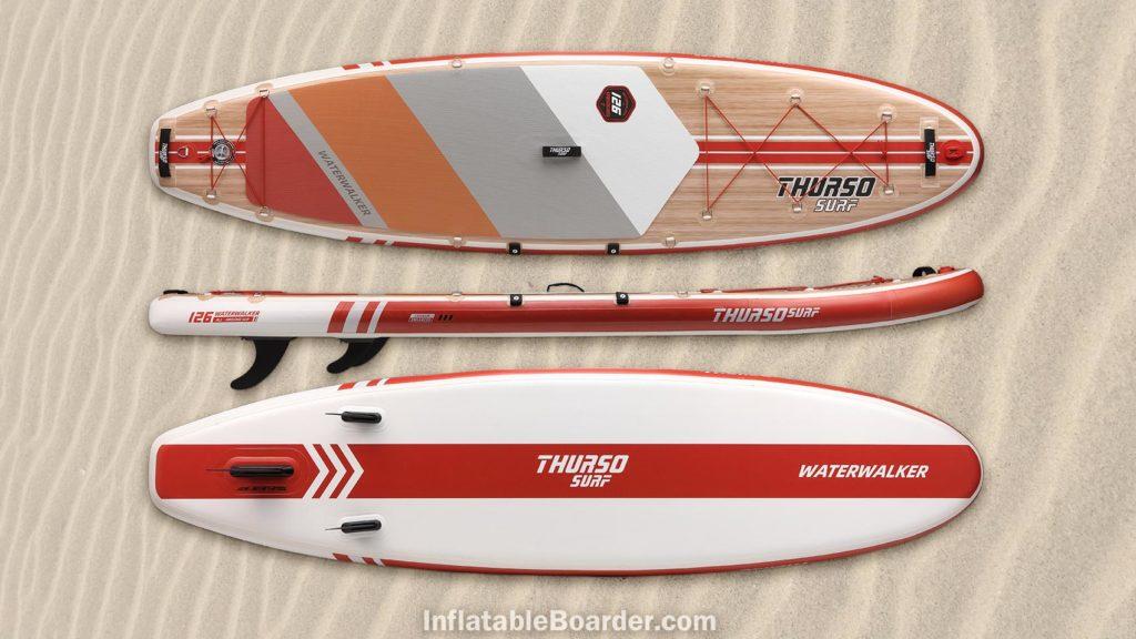 2021 Waterwalker 126 crimson red color option