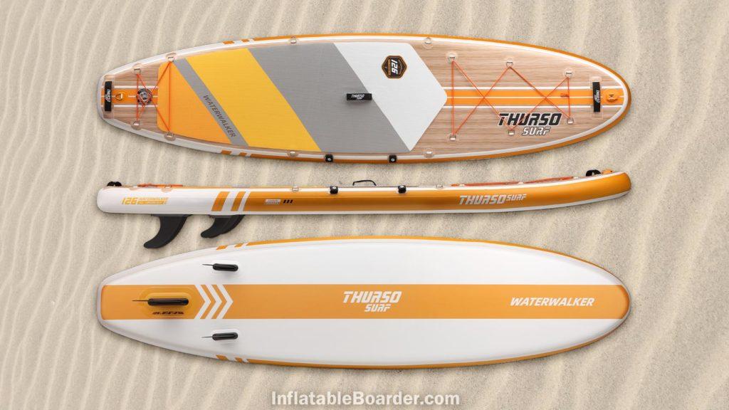 2021 Waterwalker 126 tangerine orange color option