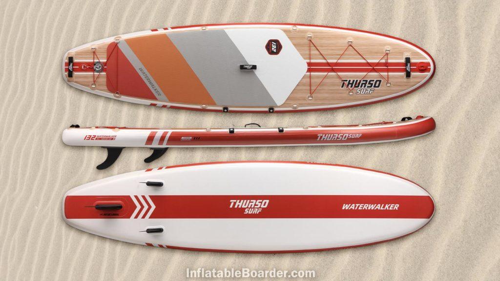 2021 Waterwalker 132 crimson red color option