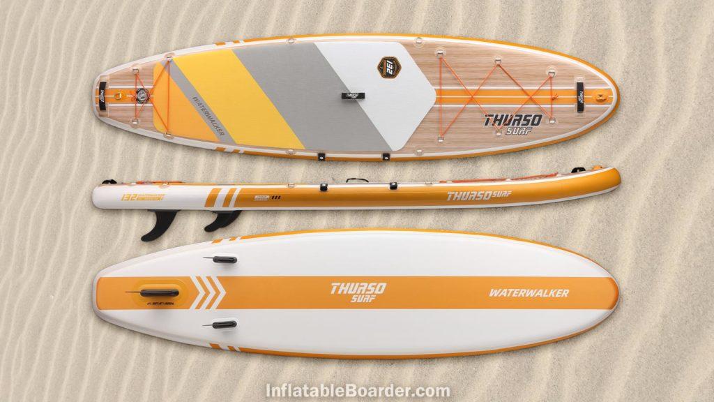 2021 Waterwalker 132 tangerine orange color option
