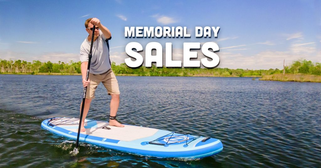 Memorial Day paddle board sales