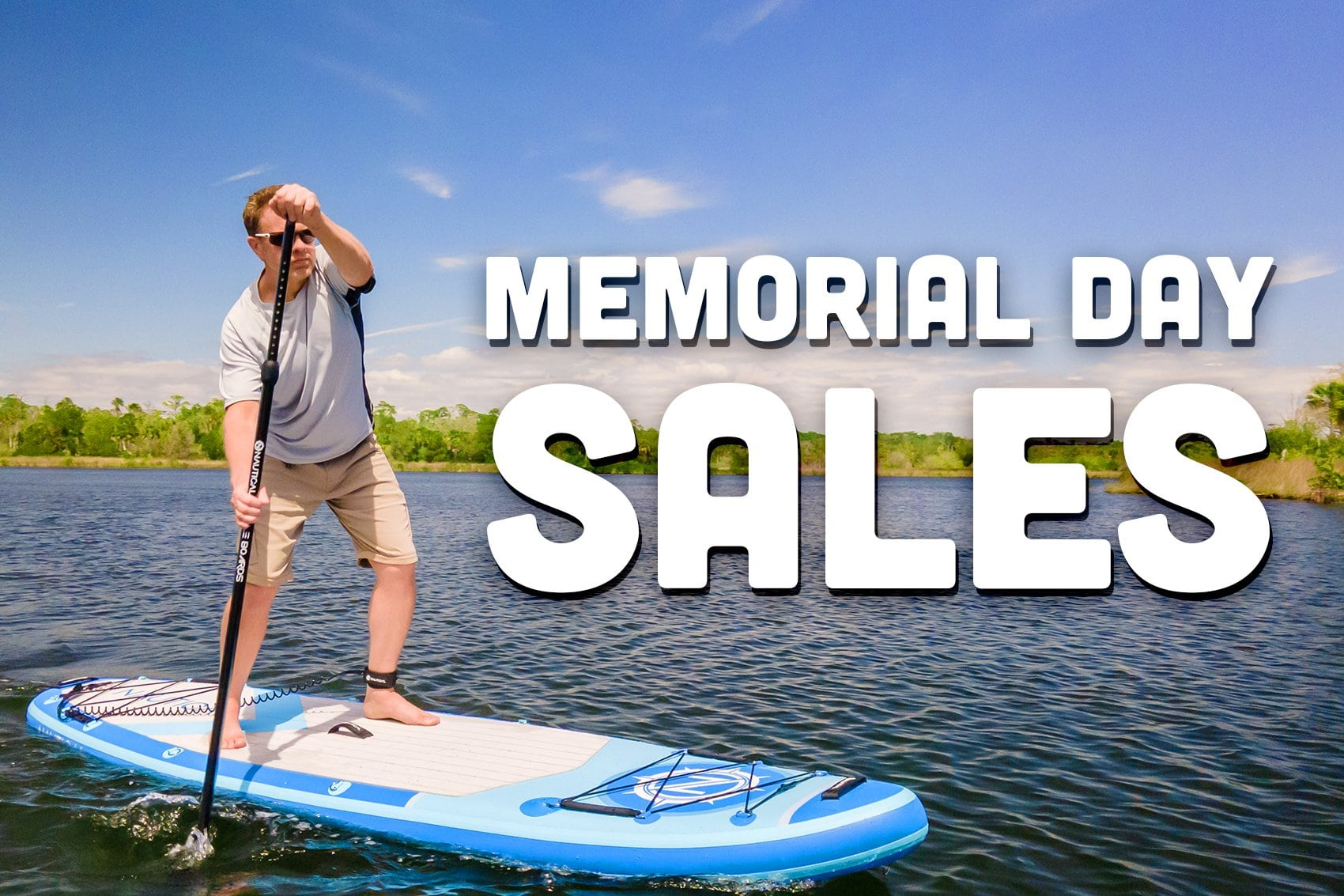 Memorial Day SUP Sales List