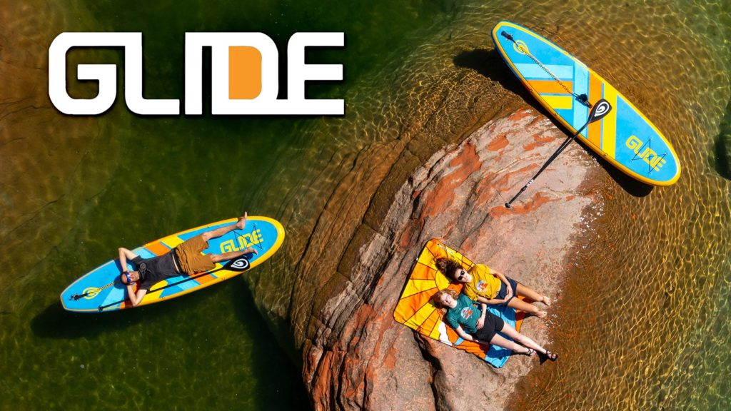 GLIDE inflatable paddle board deals